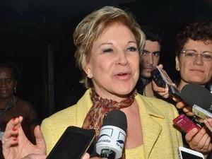 Marta passou a criticar publicamente o PT desde que deixou a Cultura. Foto: Antonio Cruz / Agência Brasil