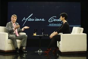 Eike Batista concedeu entrevista a Mariana Godoy exibida nesta sexta. Foto: Fernanda Simão/RedeTV!