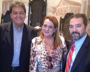 Carla esteve com lideranças do partido na última quarta-feira