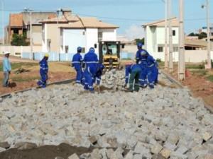 Obras foram iniciadas e prazo para conclusão é de 180 dias, incluindo as calçadas