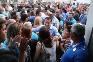 Organizadores do encontro afirmam ter reunidos mais de 3 mil pessoas no Democrata