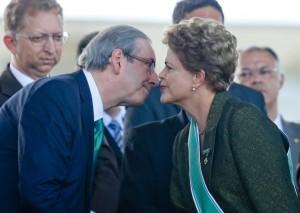 dilma e Cunha