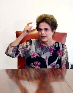 Dilma continua mal avaliada. Foto: Valter Campanato/Agência Brasil)
