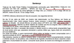 sENTENÇA 1