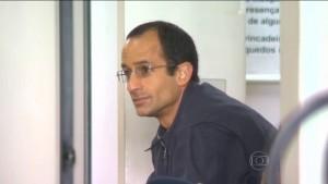 Marcelo Odebrecht está preso em Curitiba desde o ano passado (Reprodução/TV Globo)