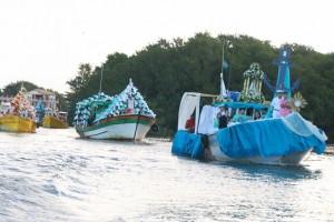 Procissão fluvial de Nossa Senhora da Penha, neste ano será realizada no sábado (Secom SJB/Arquivo)