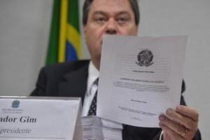 Gim Argello foi vice-presidente da CPI mista da Petrobras (Foto: Valter Campanto/Agência Brasil)