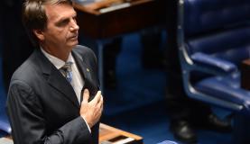 Discurso de Bolsonaro durante votação do impeachment foi criticado por entidades de direitos humanos (Foto: Antonio Cruz/Agência Brasil)