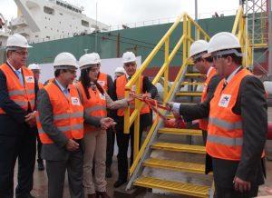 Terminal de petróleo no Açu foi inaugurado no último dia 7 (Foto: Michelle Richa)