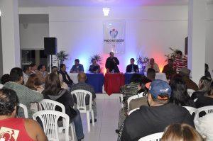 Encontro foi realizado na noite de terça em Atafona (Foto: Elis Gomes)