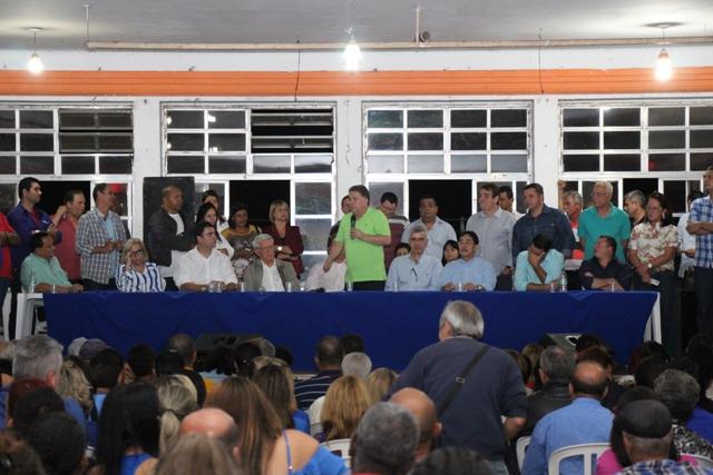 Reunião aconteceu nesta quinta-feira no Rio Branco. (Foto: Rodrigo Silveira)