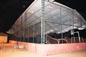 Estrutura desabou na noite dessa terça-feira (Foto: Elder Amaral/Parahybano)