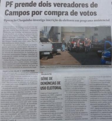 Matéria publicada na edição desta quinta-feira de O Globo. Clique para ler no site do jornal