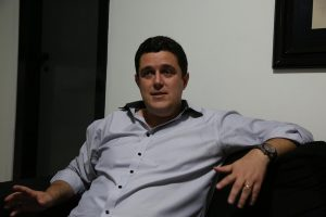 Vereador esteve na tarde desta segunda-feira no programa Folha no Ar (Foto: Rodrigo Silveira)