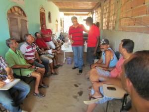 Seis Associações de Produtores Rurais e  de  pescadores estiveram presentes