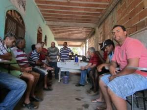 O encontro  foi realizado na Associação de Pescadores do PQ Prazeres