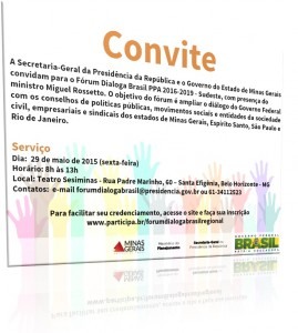 Forum Dialoga Brasil  Convitea