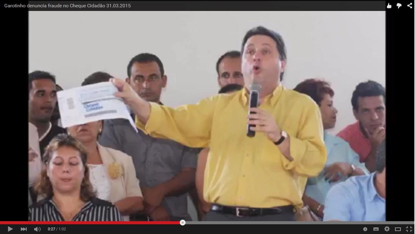 Foto do jornal online O Diário( a página com a notícia e foto foram excluídas após   divulgação da denúncia aqui no Blog da Coluna