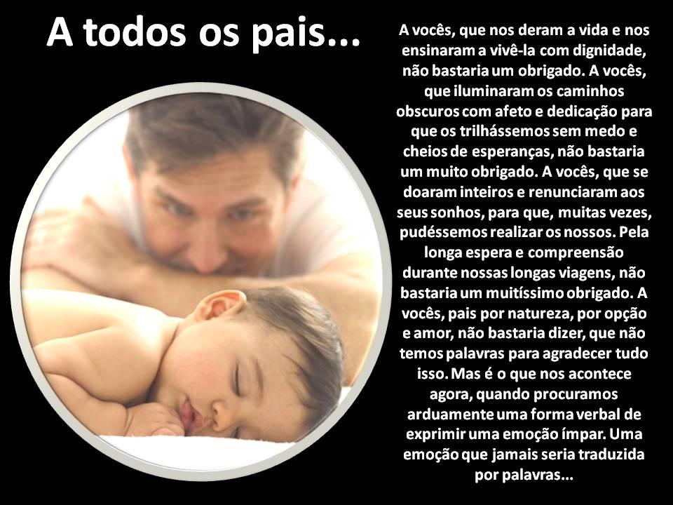Mensagem Para Filha Gravida Pela Primeira Vez: Lindas Mensagens Para Seu Pai! Folha1