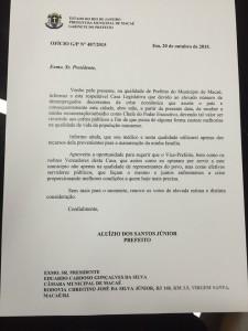 prefeito macae salario