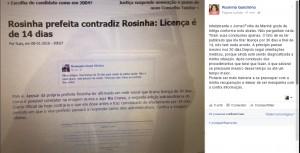 Rosinha Facebook