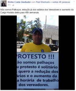 protesto salarios vereadores