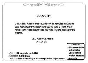 convite nildo