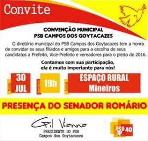 convenção psb
