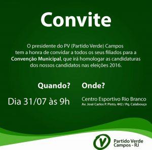 convençao pv