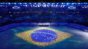 Rio de Janeiro - Cerimônia de encerramento dos Jogos Olímpicos Rio 2016, no Maracanã (   REUTERS/Fabrizio Bensch/Direitos Reservados) - Agência Brasil