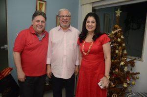 Ano passado, o Natal de Jonas Lopes foi na casa do casal Garotinho
