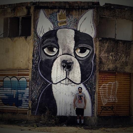 O grafiteiro Dog Jam (Campos-RJ)