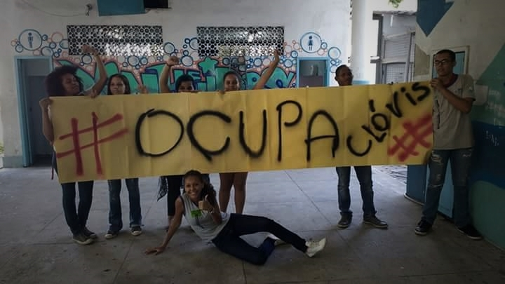 #OcupaClovis, no Jacaré, capital do Rio