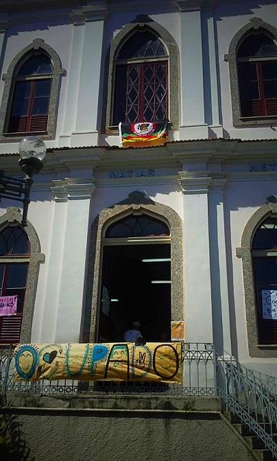 #OcupaMatiasNeto, em Macaé-RJ