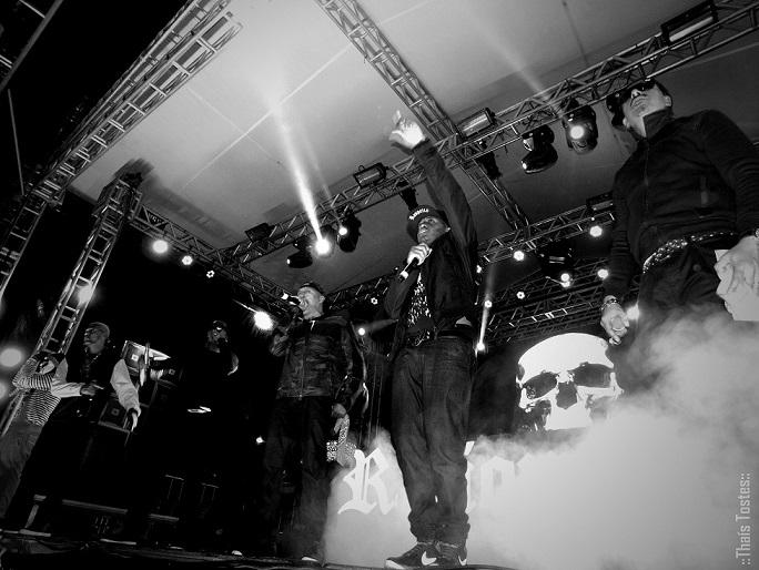 Cena do show dOs Racionais em Maricá-RJ, no último mês de junho. Foto: Thaís Tostes
