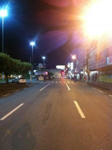 Domingo, 23h Avenida Cardoso Moreira