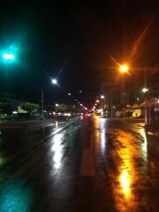 Segunda-Feira, 20:31h Avenida Presidente Dutra