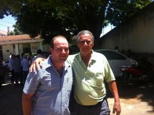 Murilo Gouveia Rodrigues e Bolívar Sanchez, secretário de Governo