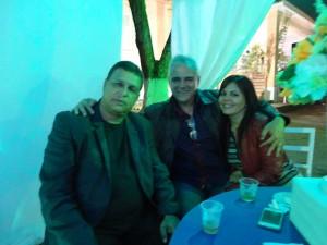 Luis Carlos, Adilson Ribeiro e Vânia.