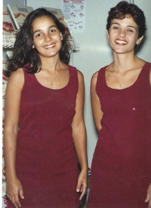 Marilene Cândido e Kelly Rosa Pereira