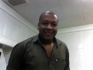 O radialista Robson Araújo