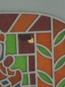O vitral quebrado