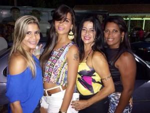 Maíra Fuly,Hélia Moura, Angélica Zabal e Dávila Ramos