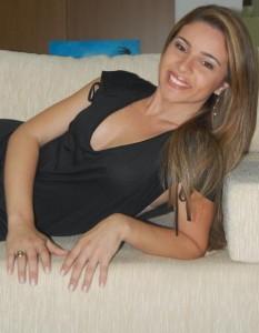 A jornalista Paula Trindade