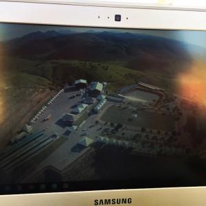 Vista Aérea do Espaço Orlandus-Local da EXpo Itaperuna,
