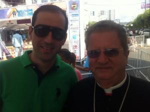 André Raeli e D. Fernando Riffan