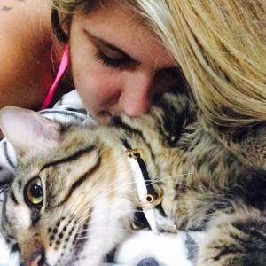 Gata e Gato: Polyana Santos