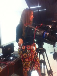 Sonia Suaid sempre atenta na TVi-Canal 21