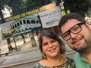 MICHELLINY CORREA E VAGNER SIMONIN, REDENTORIANOS EM PARAÍBA DO SUL-RJ