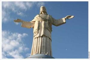 Símbolo Máximo da cidade de Itaperuna, sede da Faculdade: O Cristo Redentor